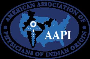 American Association of Physicians of Indian Origin Logo